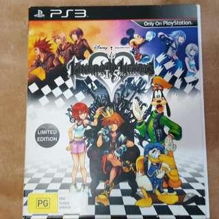 Kingdom Hearts 1.5 Remix Limited edition RARE!