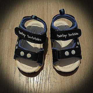 BNIB Baby Bubbles Sandals In Blue, Size 3