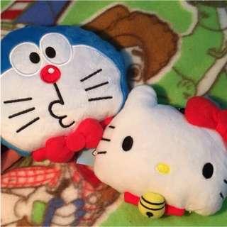 日本hello kitty凱蒂貓KT機器貓小叮噹哆啦A夢伸縮公車捷運卡悠遊卡ㄧ卡通上班門卡卡包門禁卡icash