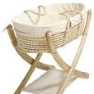Moses Basket / Cradle 200$