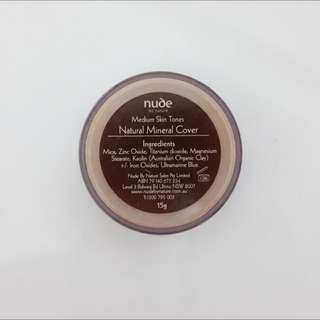 Nude By Nature Mineral Foundation (medium)
