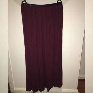 Ally Size 8 Maxi Skirt