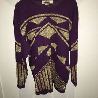 Vintage Expressives Pullover Size Small