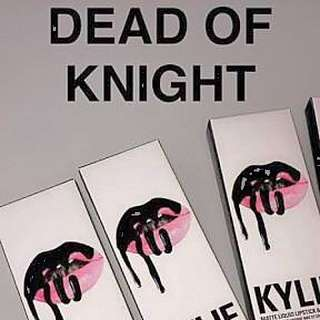 Kylie Dead Of Night Lipkit & Majesty Metal