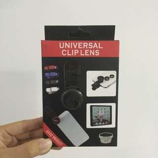 Universal Clip Lens (fisheye/macro)