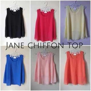 Jane chiffon