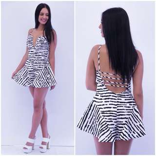 Zebra Playsuit