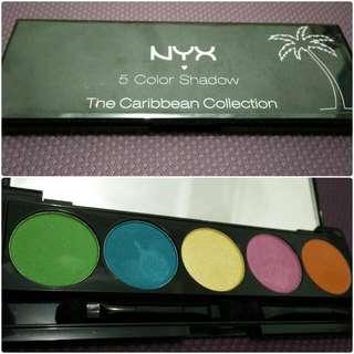 Nyx 5 Color Shadow