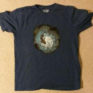 Navy Catfish Medium T Shirt