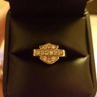 Genuine S Curtis Harley Davidson 14k Gold Ring
