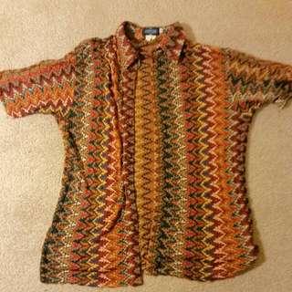 Unisex Colourful Woven XL Shirt