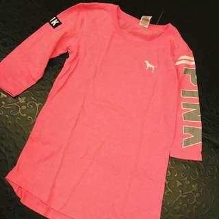 Victoria's Secret PINK 七分袖上衣