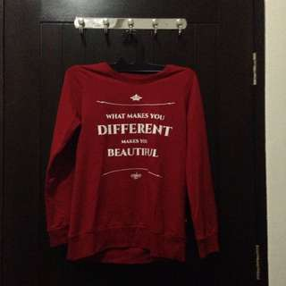 Semi Sweater Red