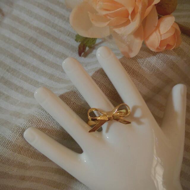 蝴蝶結造型戒指