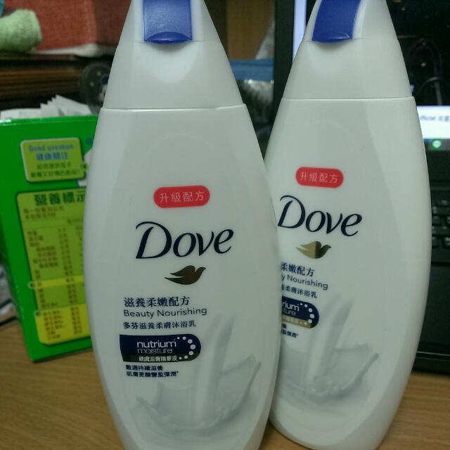 多芬沐浴乳
