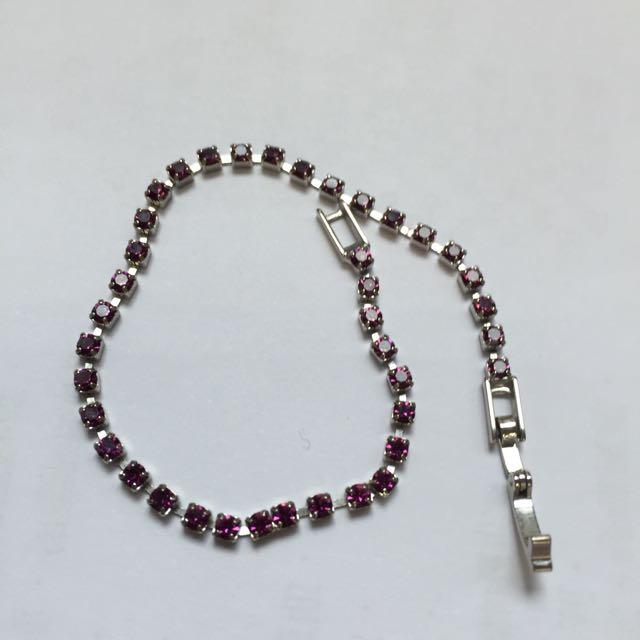 正貨 紫水晶手鍊