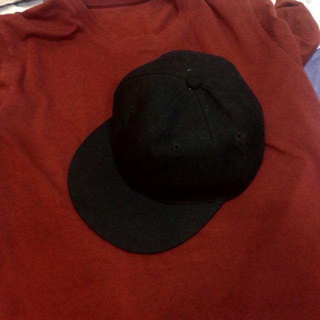 ✨降✨素面棒球帽 ⚫️