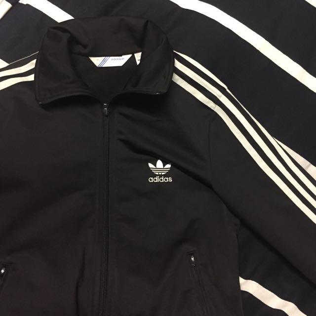 PENDING Adidas Superstar Track Jacket Black/White