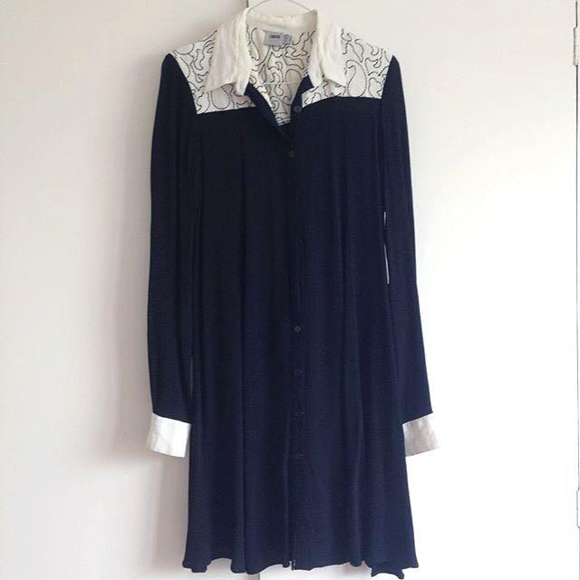 ASOS Embroidered Shirt Dress