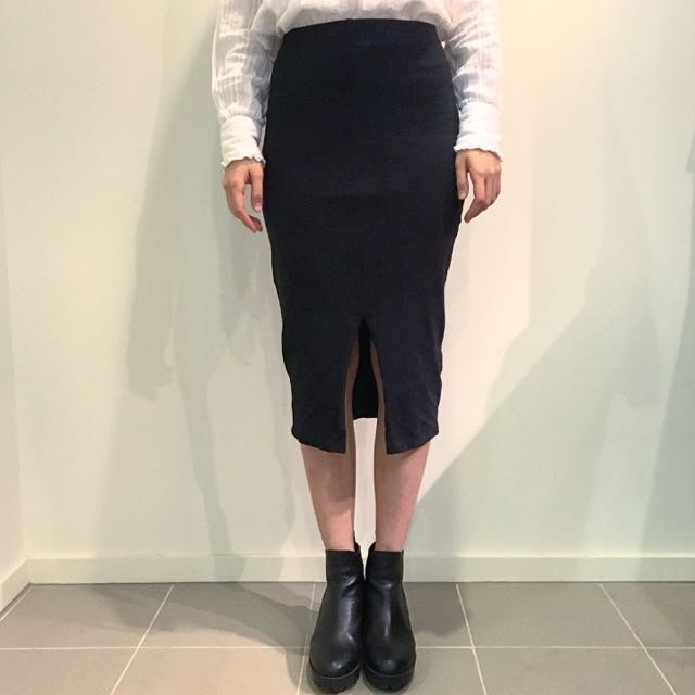 ASOS Front Split Skirt