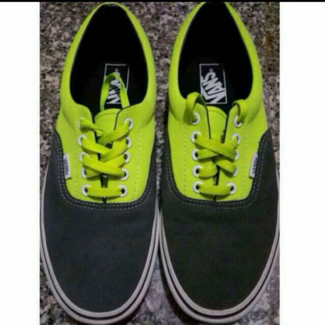 c54f90eba71c56 AUTHENTIC Neon Green VANS