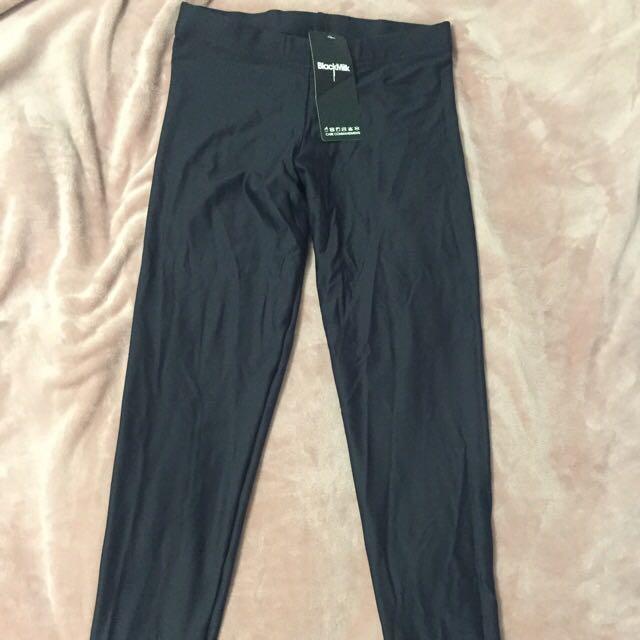 BLACK MILK MATTE FULL LENGTH LEGGINGS - XL