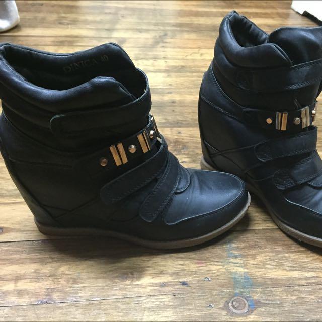 Boot Wedge Heels