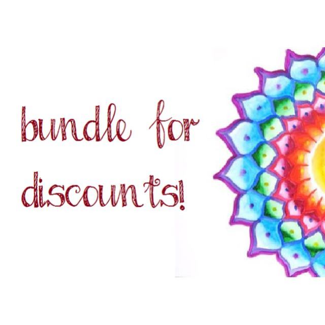 BUNDLE ITEMS FOR DISCOUNT PRICES!