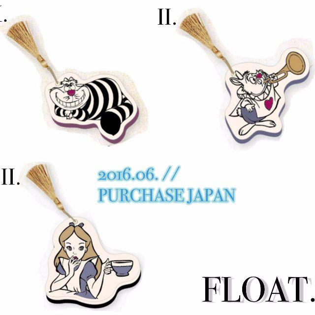 日本連線代購 Disney Alice in Wonderland-花園系列 愛麗絲夢遊仙境滑蓋隨身鏡子