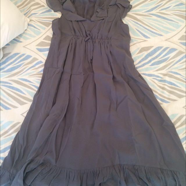 Fate Silk Dress - Size 12