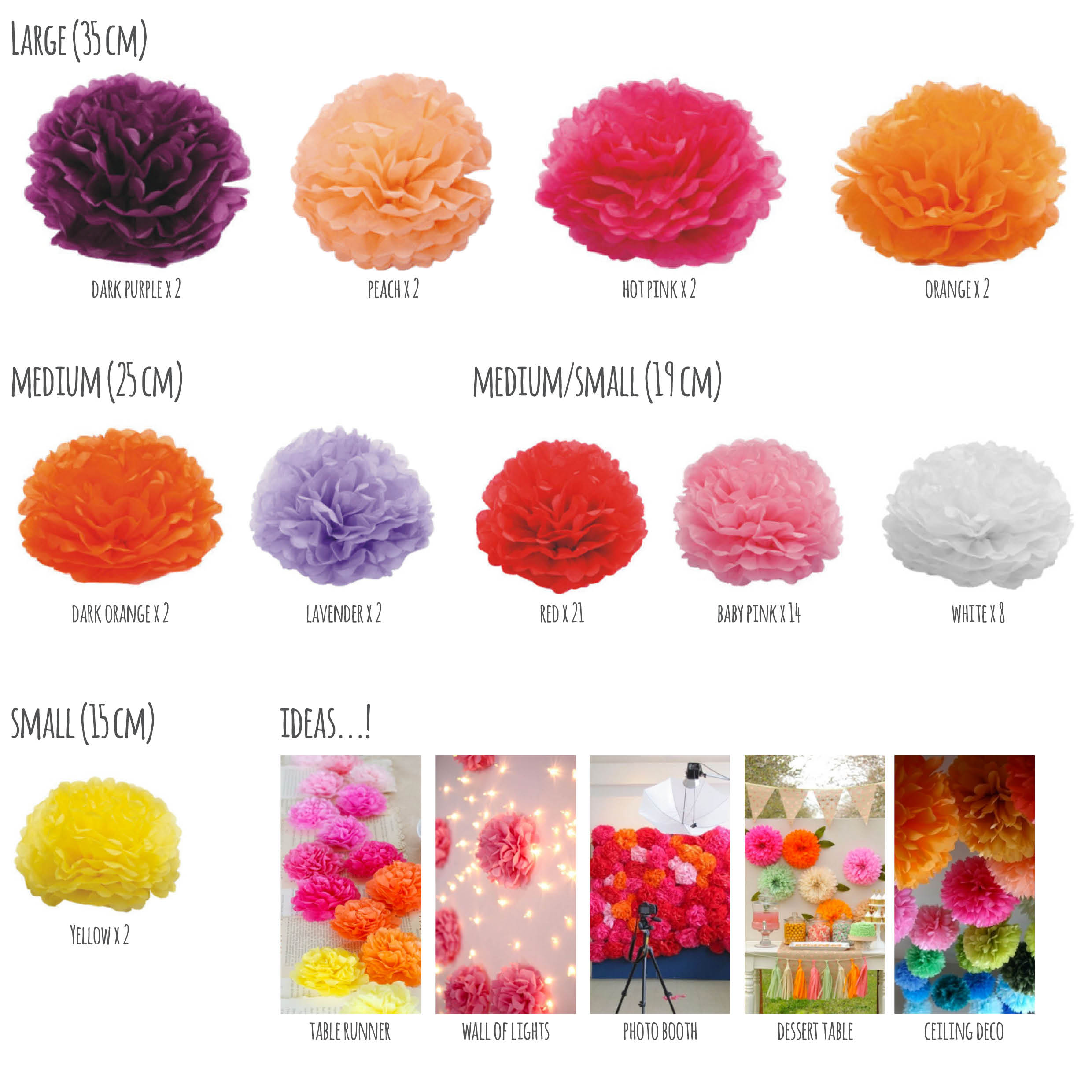 Giant Tissue Paper Flowers Design Craft On Carousell