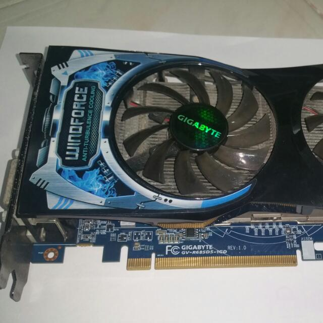 Gigabyte Windforce GPU AMD HD 6850