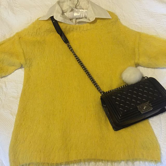 H&M Yellow Sweater