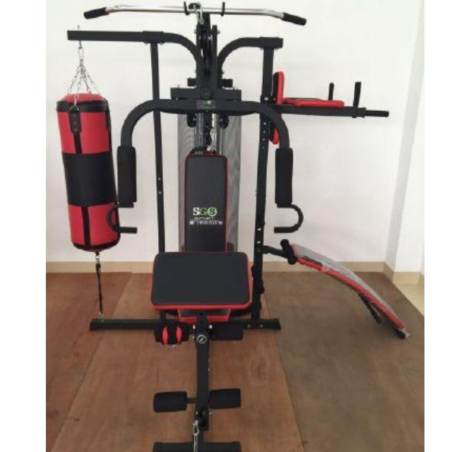 Home Gym Tiga Sisi With Sit Up Bench