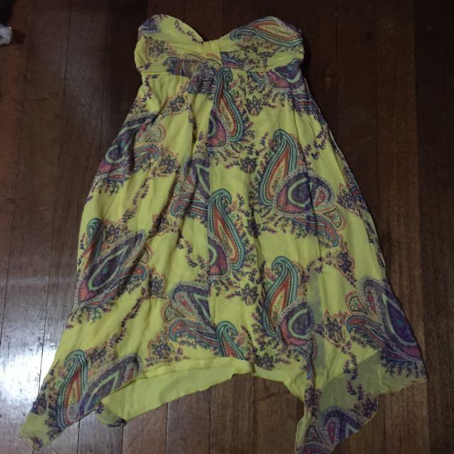 Jonathan Yellow Summer Dress