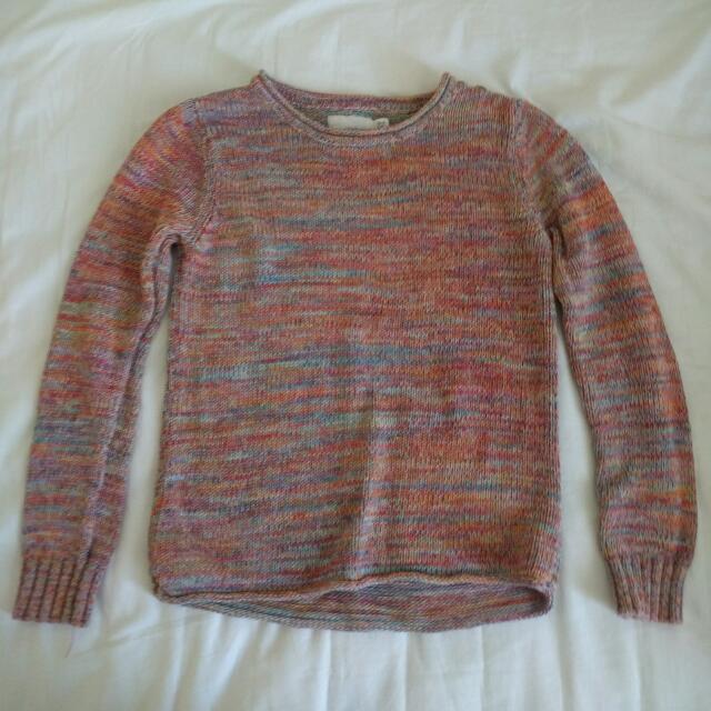 Knit Multicolor Sweater