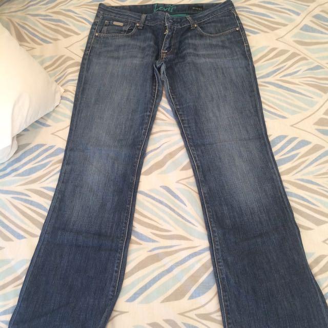 Levis 808 Bootcut Jeans - Size 12