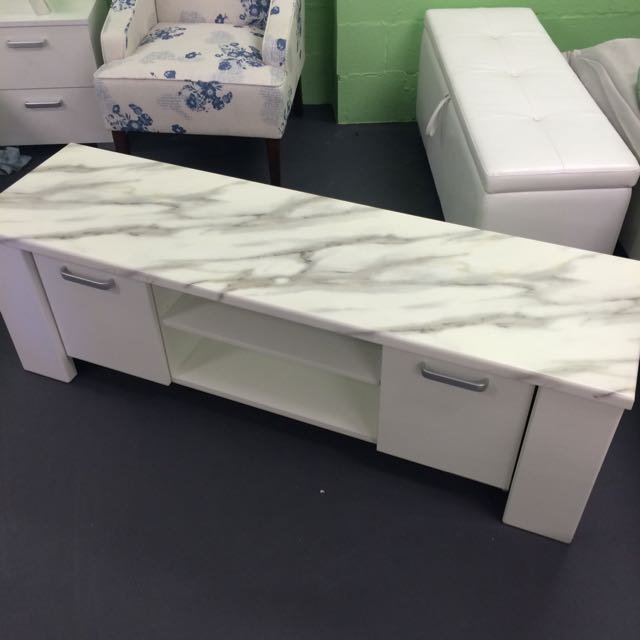 Marble Top TV Unit