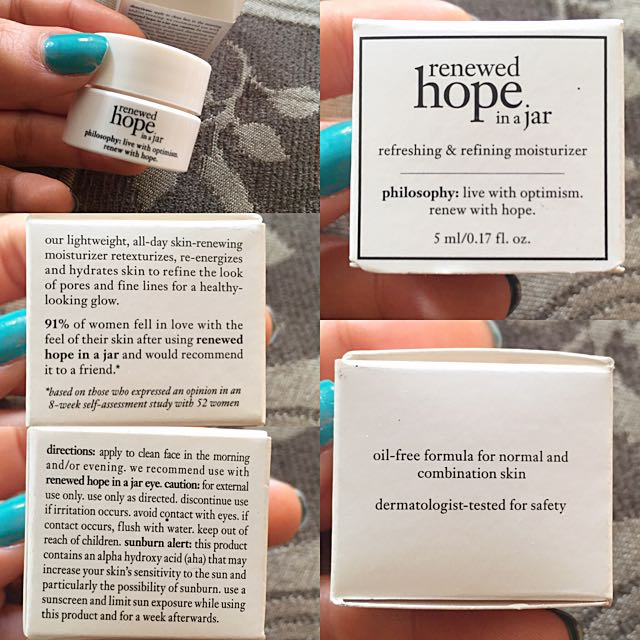 Mini Renewed Hope In A Jar