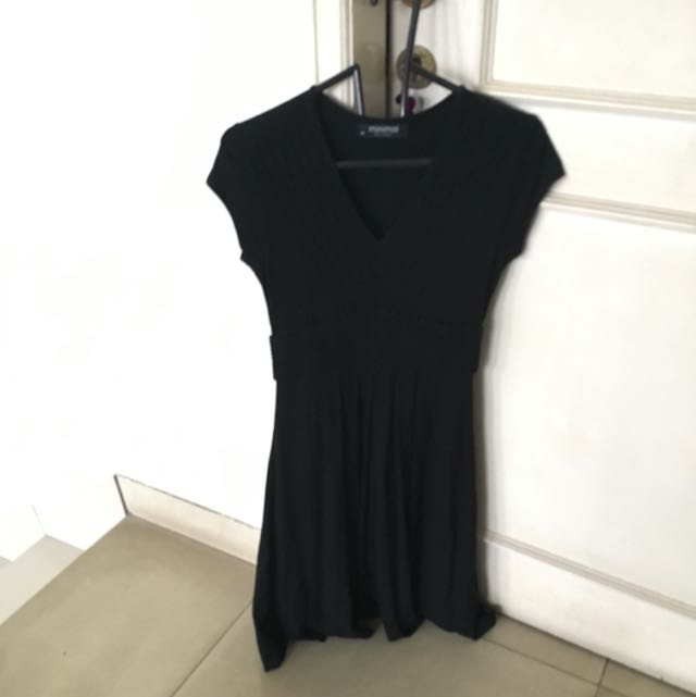 MINIMAL BASIC DRESS (black)