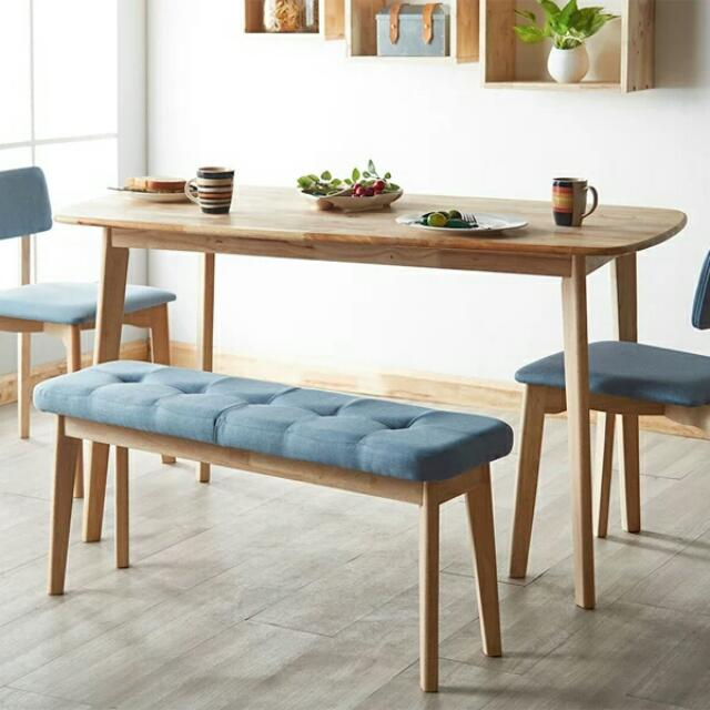 Nordic Scandinavian Minimalist Wood Dining Table Furniture Tables Chairs On Carousell