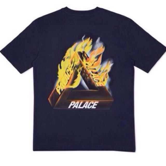 PALACE SKATEBOARDS 16SS TRI-FIRE T-SHIRT火焰 燃燒 短袖TEE(正品)