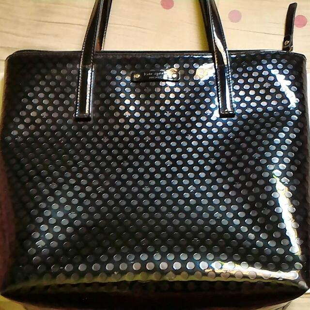 Preloved Katespade Handbag in Black.