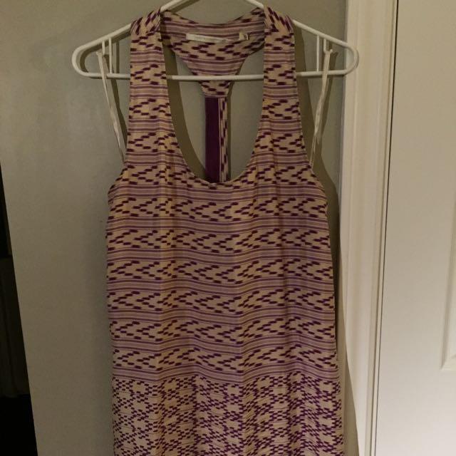 Print Silk Dress By Twelfth Street By Cynthia Vincent