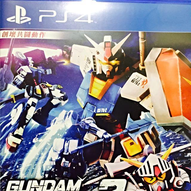PS4-鋼彈破壞者3(中文版)