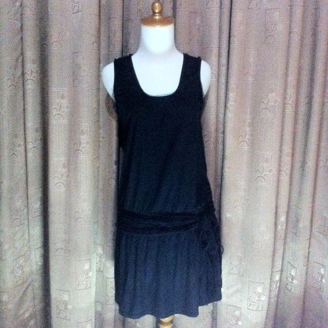 Slow Steady Black Dress