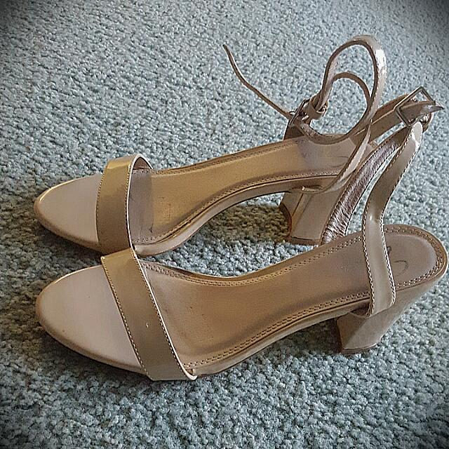 Spurr Cream Heels