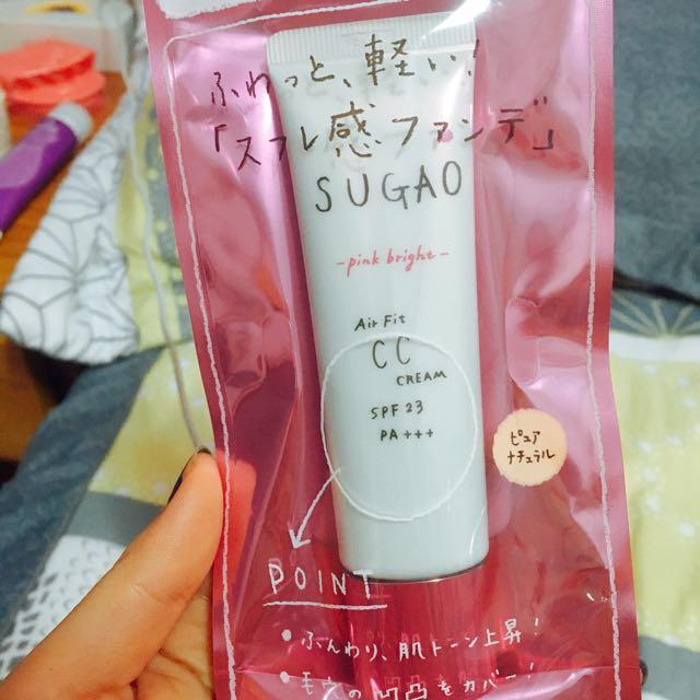 SUGAO粉紅白皙色