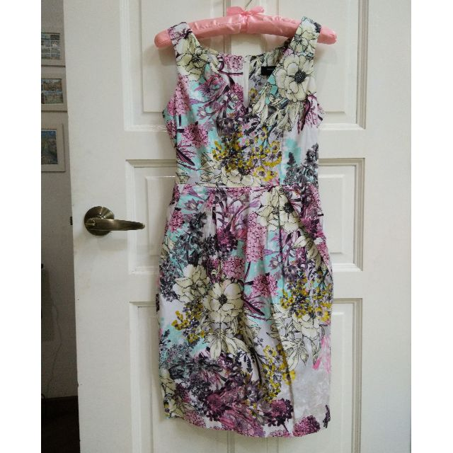 (SOLD) Dorothy Perkins Floral Dress with Pockets XS