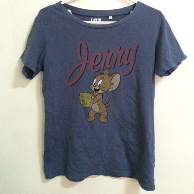 可愛の傑利鼠T恤